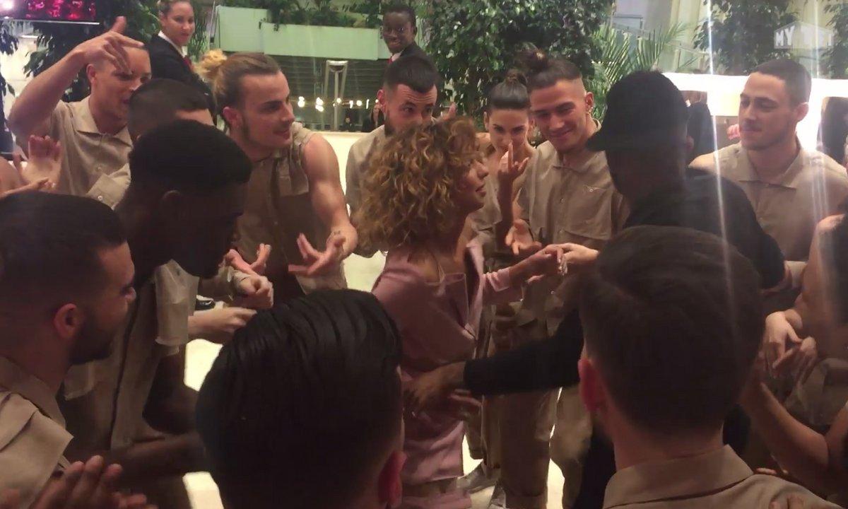 La danse de Tal après sa victoire aux NMA !