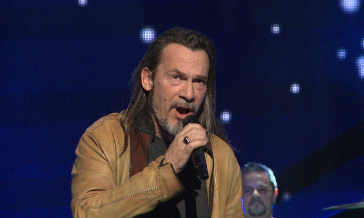 NRJ Music Awards Répétitions : Florent  Pagny entre en scène