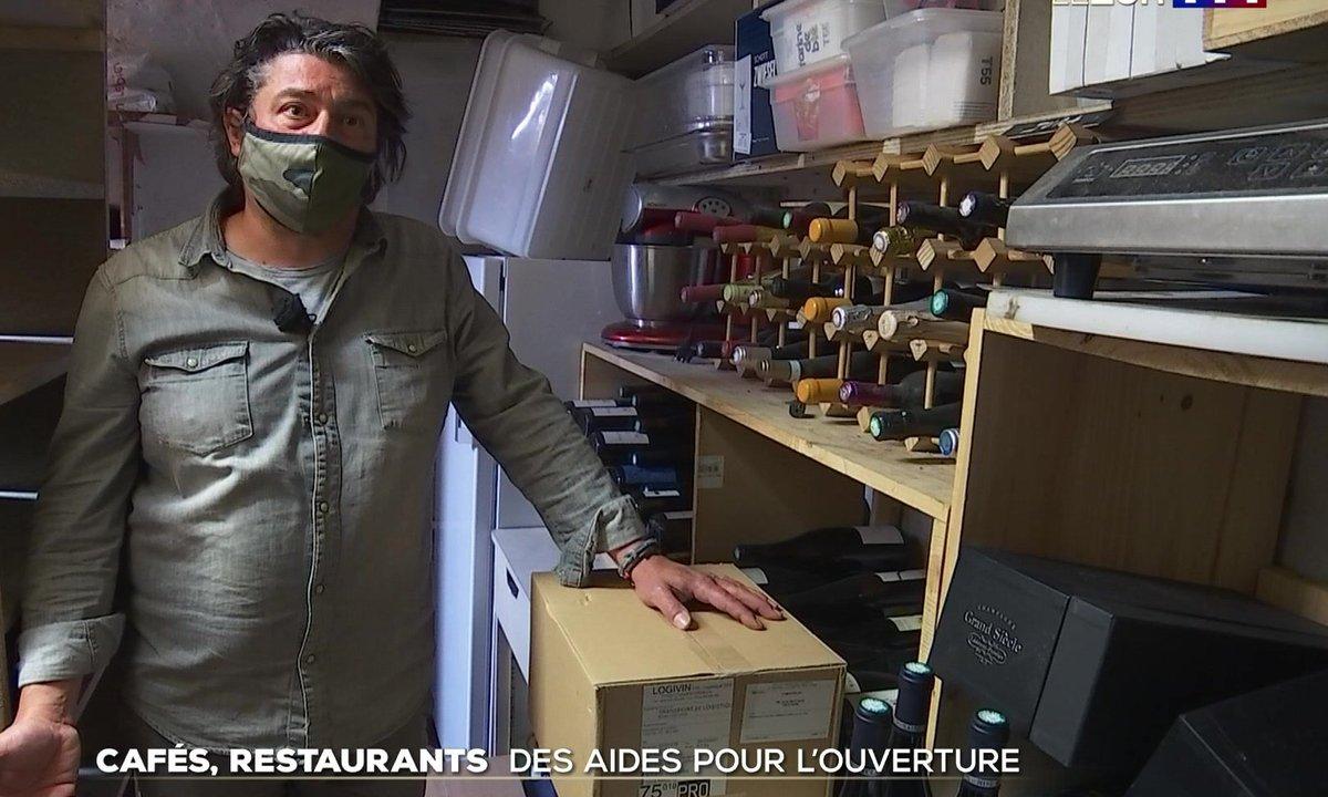 Objectif 19 mai : les restaurants relancent leur approvisionnement