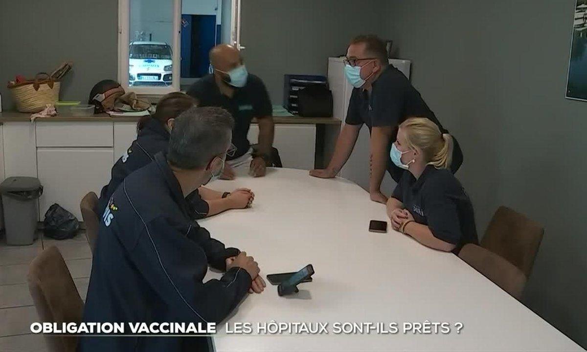Obligation vaccinale : les hôpitaux sont-ils prêts ?