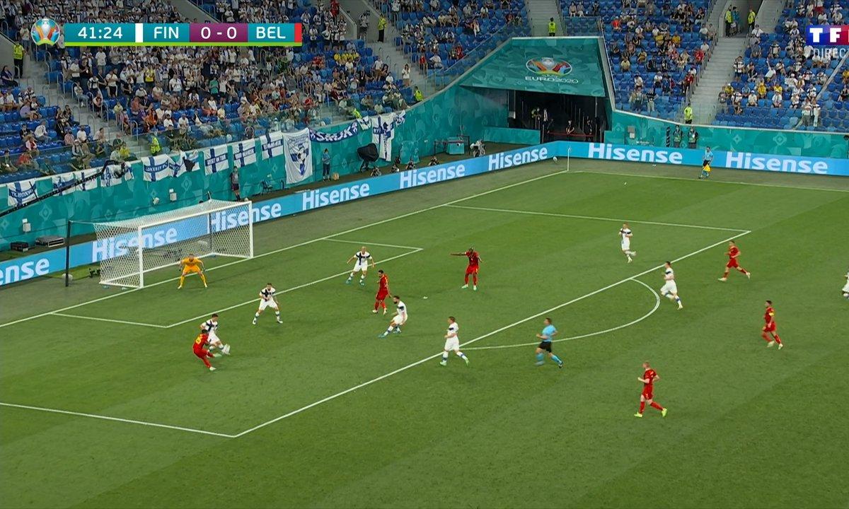 Finlande - Belgique (0 - 0) : Voir l'occasion de Doku en vidéo