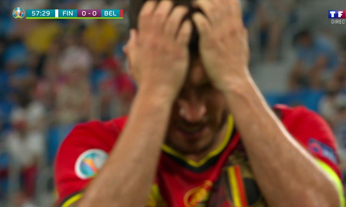 Finlande - Belgique (0 - 0) : Voir l'occasion de Hazard en vidéo