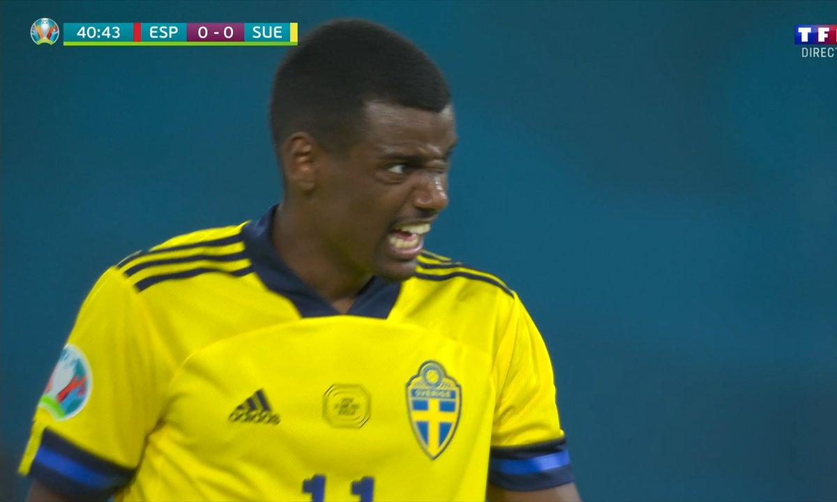 Espagne - Suède (0 - 0) : Voir l'énorme occasion d'Isak en vidéo