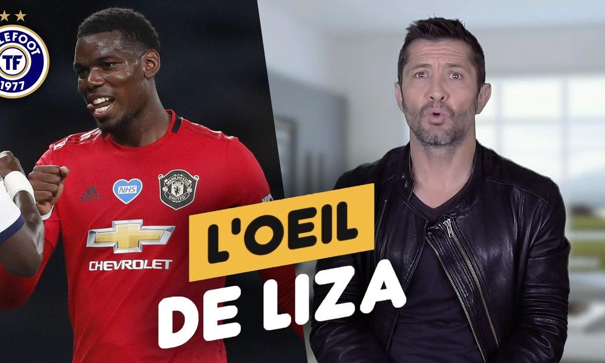 """L'oeil de Liza : """"Zidane a un temps d'avance pour Pogba"""""""