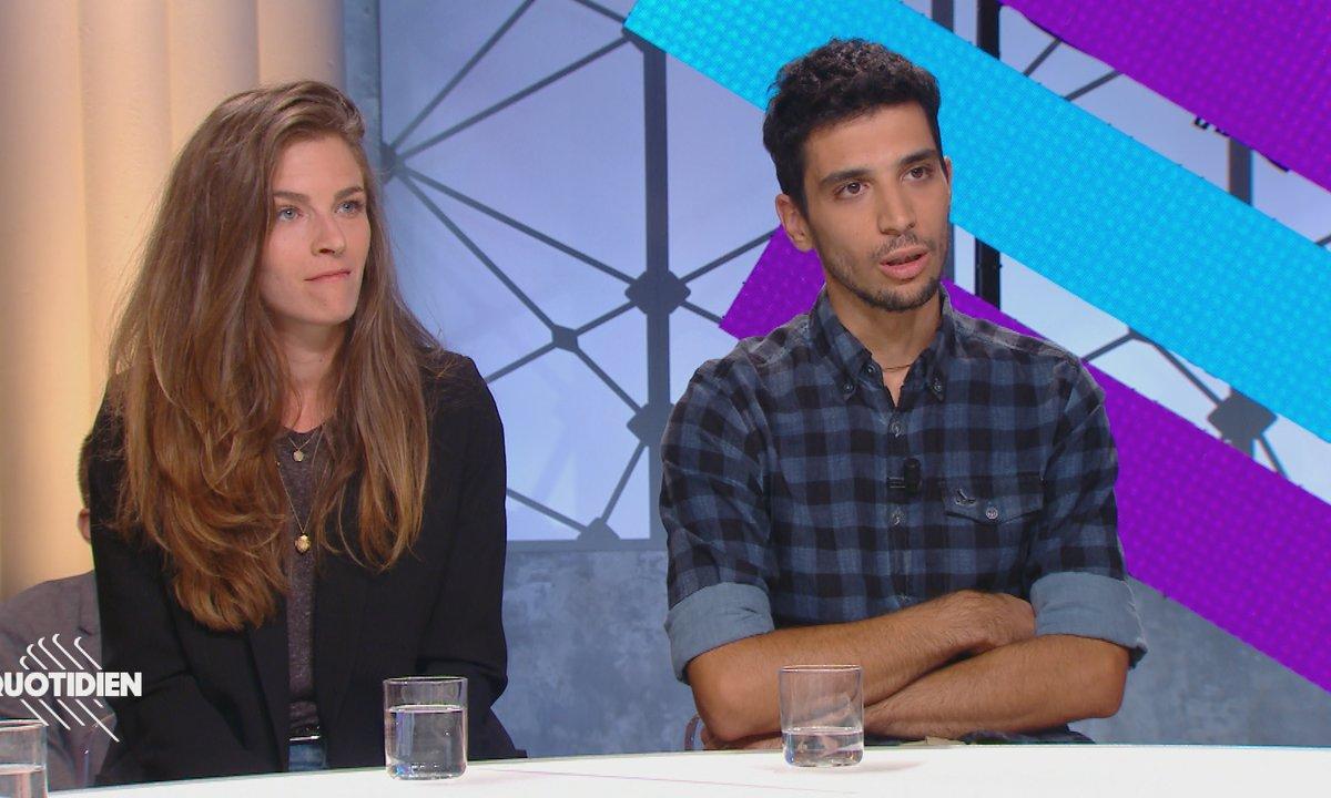 EXCLU - Invités : Chloé et Georgios, le couple molesté par Alexandre Benalla place de la Contrescarpe