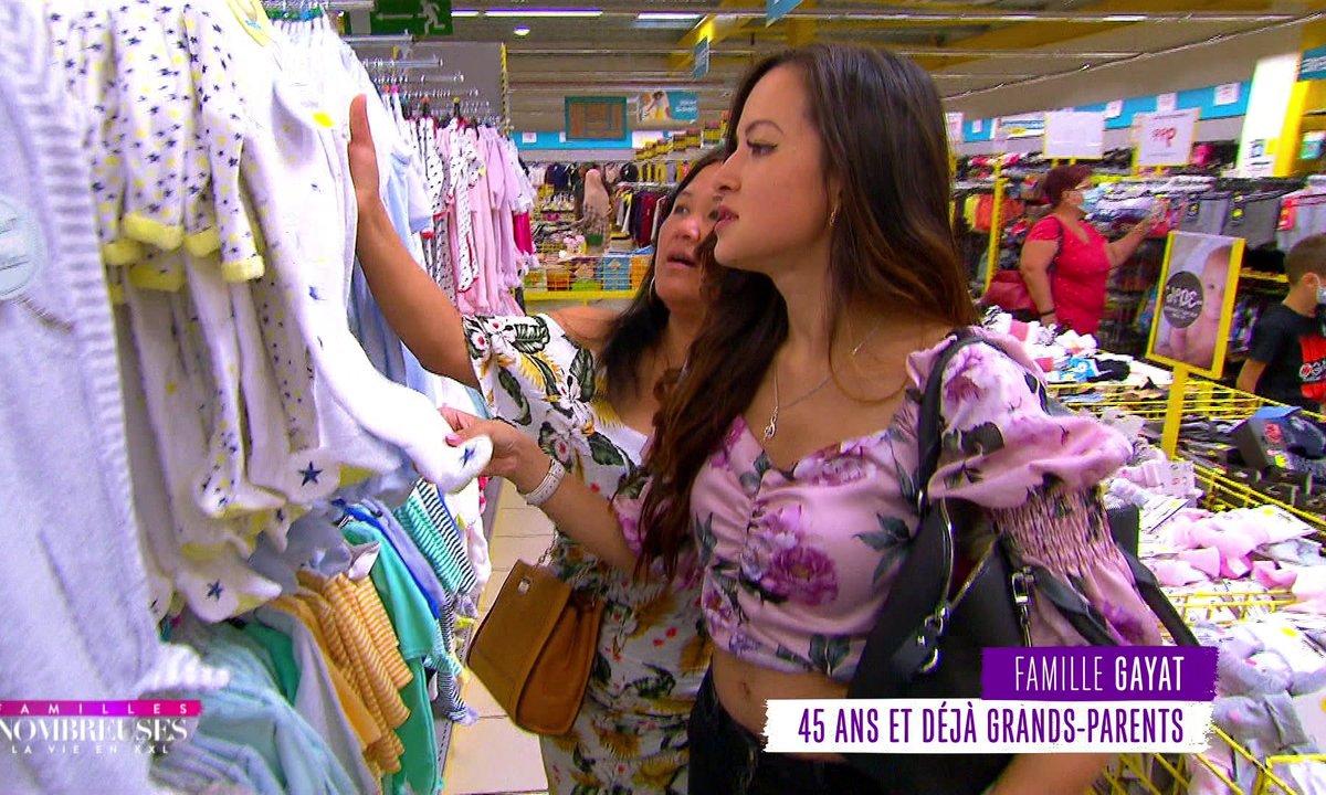 Famille Gayat : Olivia et Souk partent faire des achats pour le futur bébé