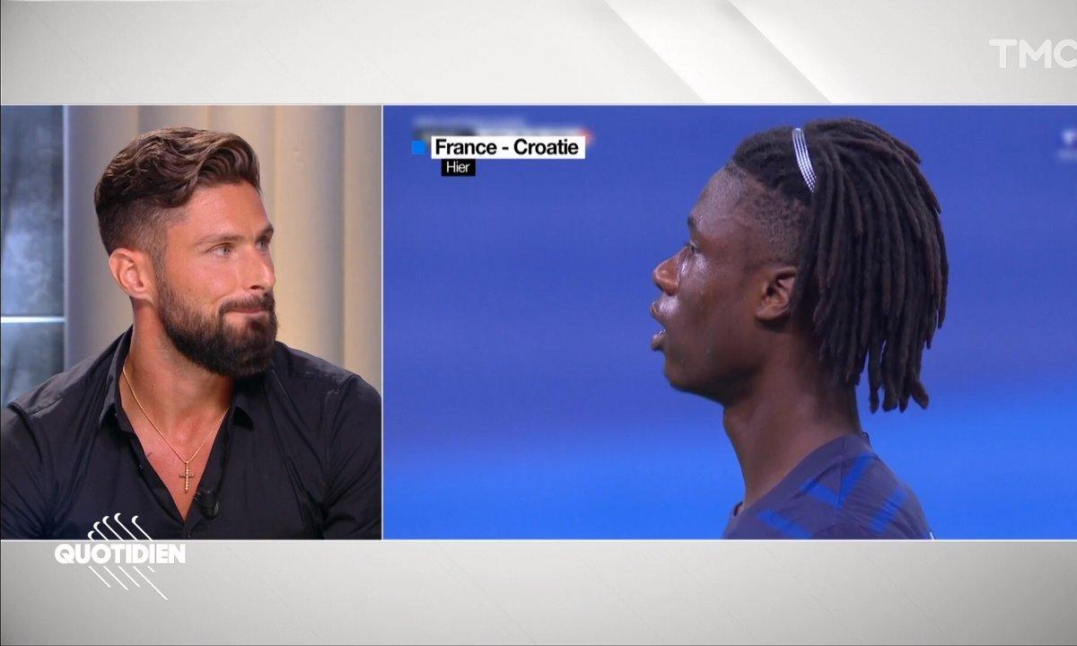 """Olivier Giroud sur la nouvelle génération de l'équipe de France : """"Ils sont très matures"""""""