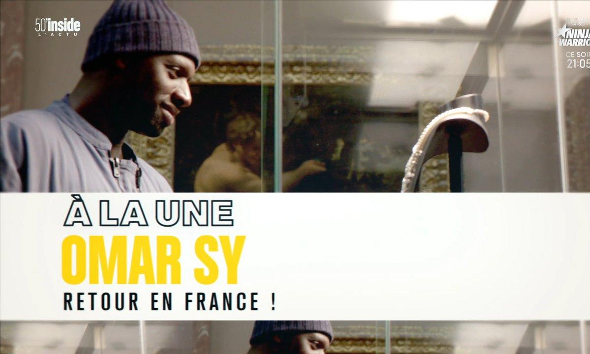 Omar Sy: enfin de retour en France !
