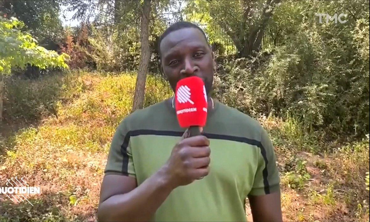 Omar Sy est le parrain de Quotidien Saison 5 !