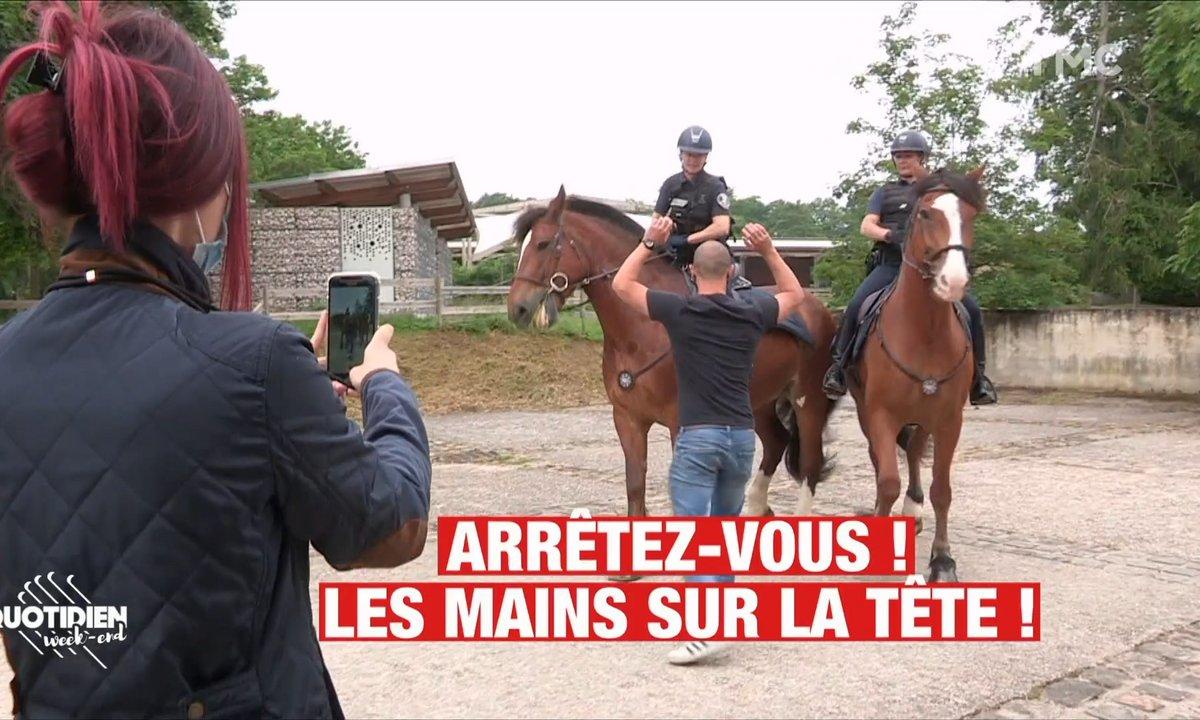 On a assisté aux tournages Tik Tok de la police française