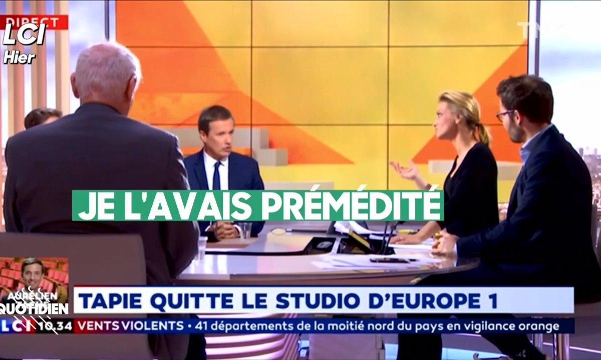 On sait ENFIN pourquoi Nicolas Dupont-Aignan a quitté le plateau de TF1 (et c'est noble, très noble)