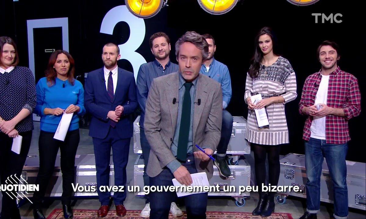 """""""On est toujours copains hein ?"""" : Quotidien a un message pour les Italiens"""