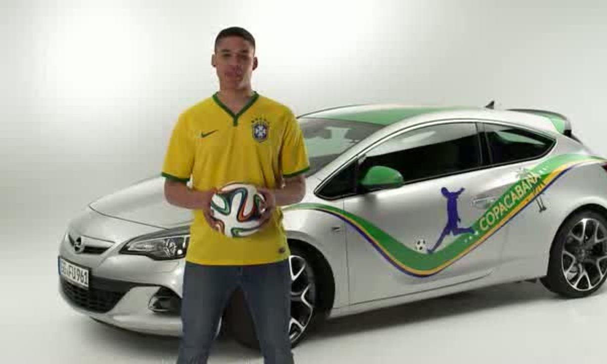 Opel présente en vidéo l'Astra Copacabana