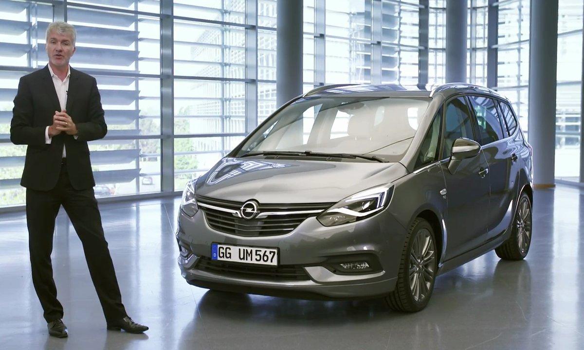 Présentation de l'Opel Zafira 2017