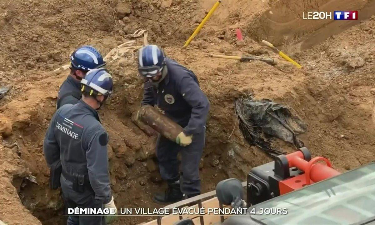 Opération de déminage : un village de l'Aisne évacué pendant quatre jours