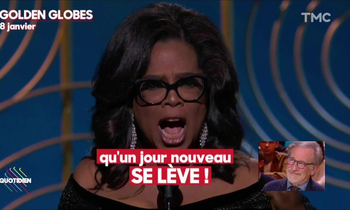 "Steven Spielberg : ""Oprah Winfrey ferait une excellente présidente"""