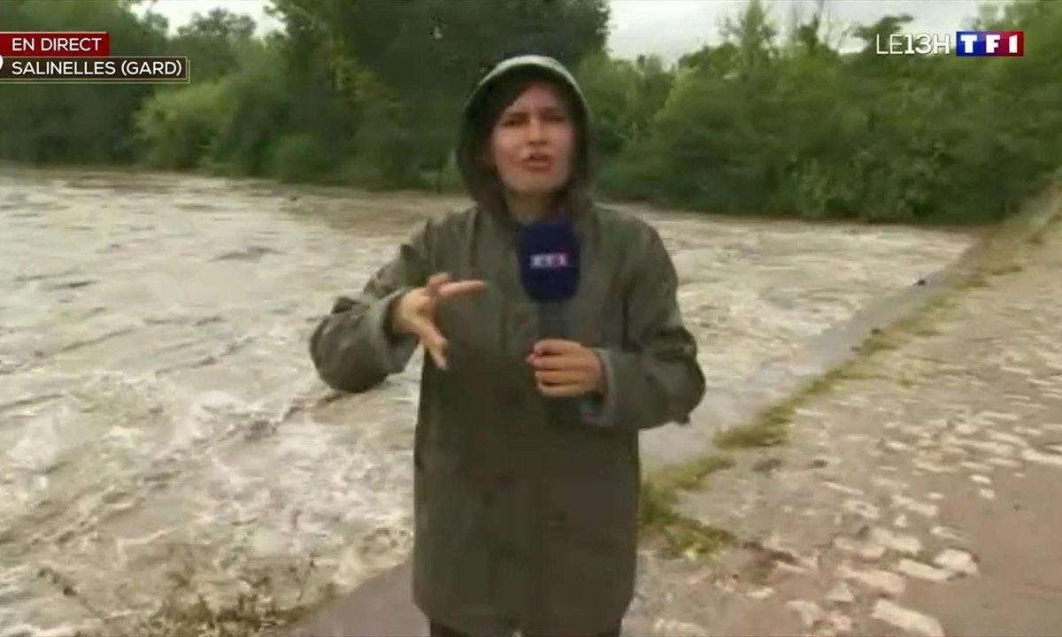 Orages : alerte rouge dans le Gard