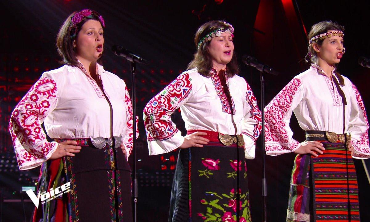 """The Voice 2021 - Orenda chante """"Tchoudou"""" un chant Bulgare"""