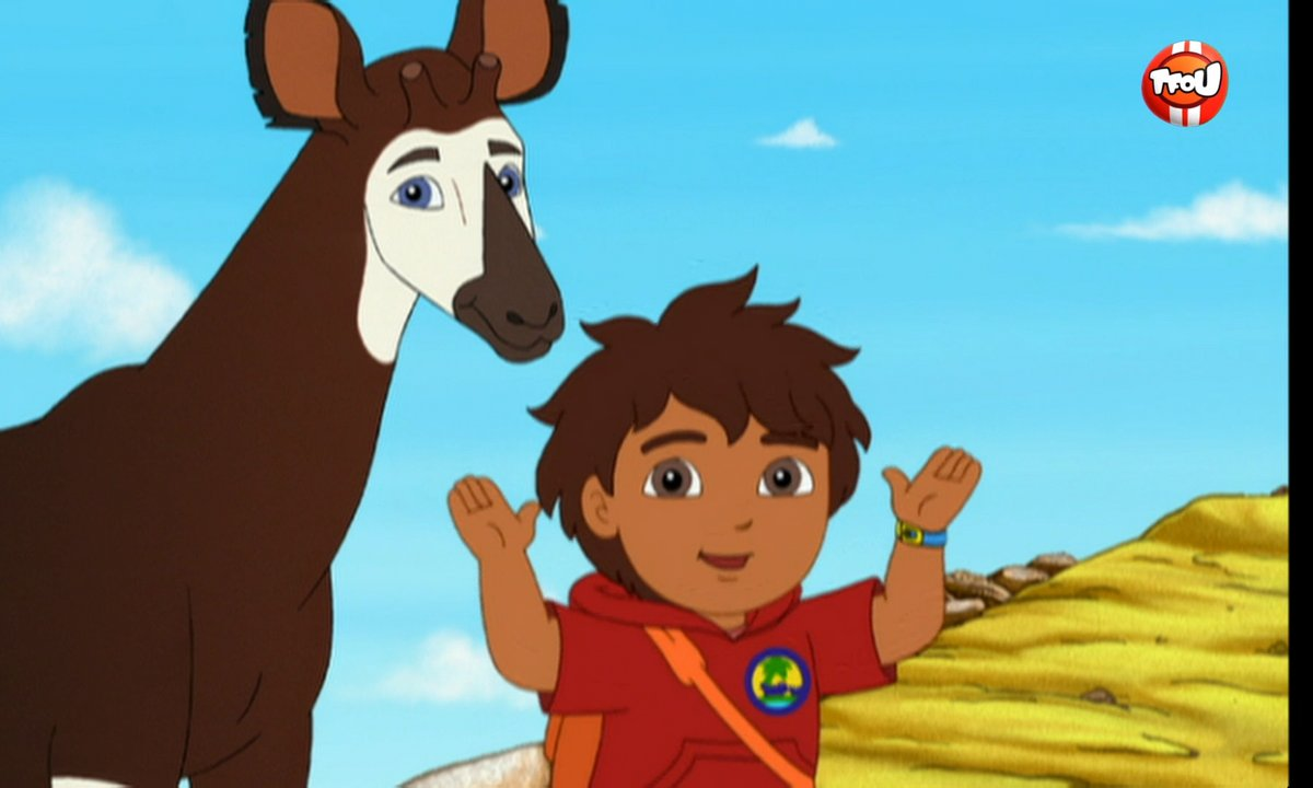 Go Diego ! - Où se cachent les okapis ? - Extrait