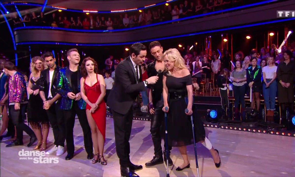 Pamela Anderson, blessée ne dansera pas ce soir