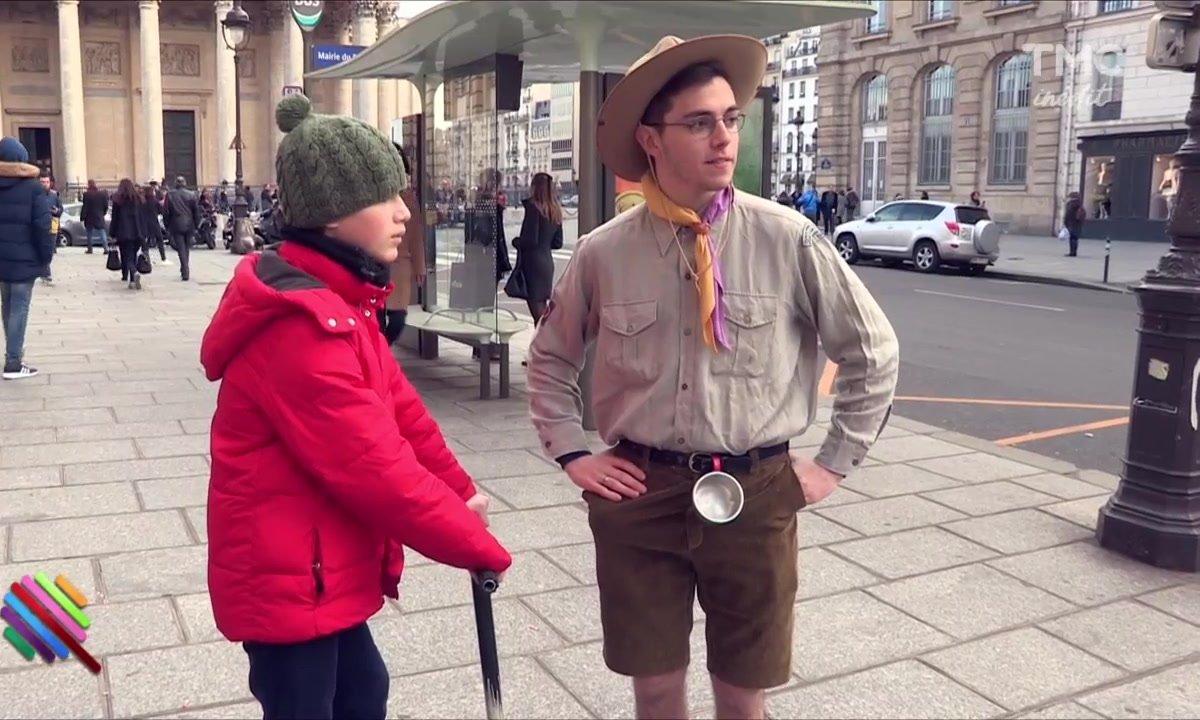 Panayotis Pascot : Scout toujours