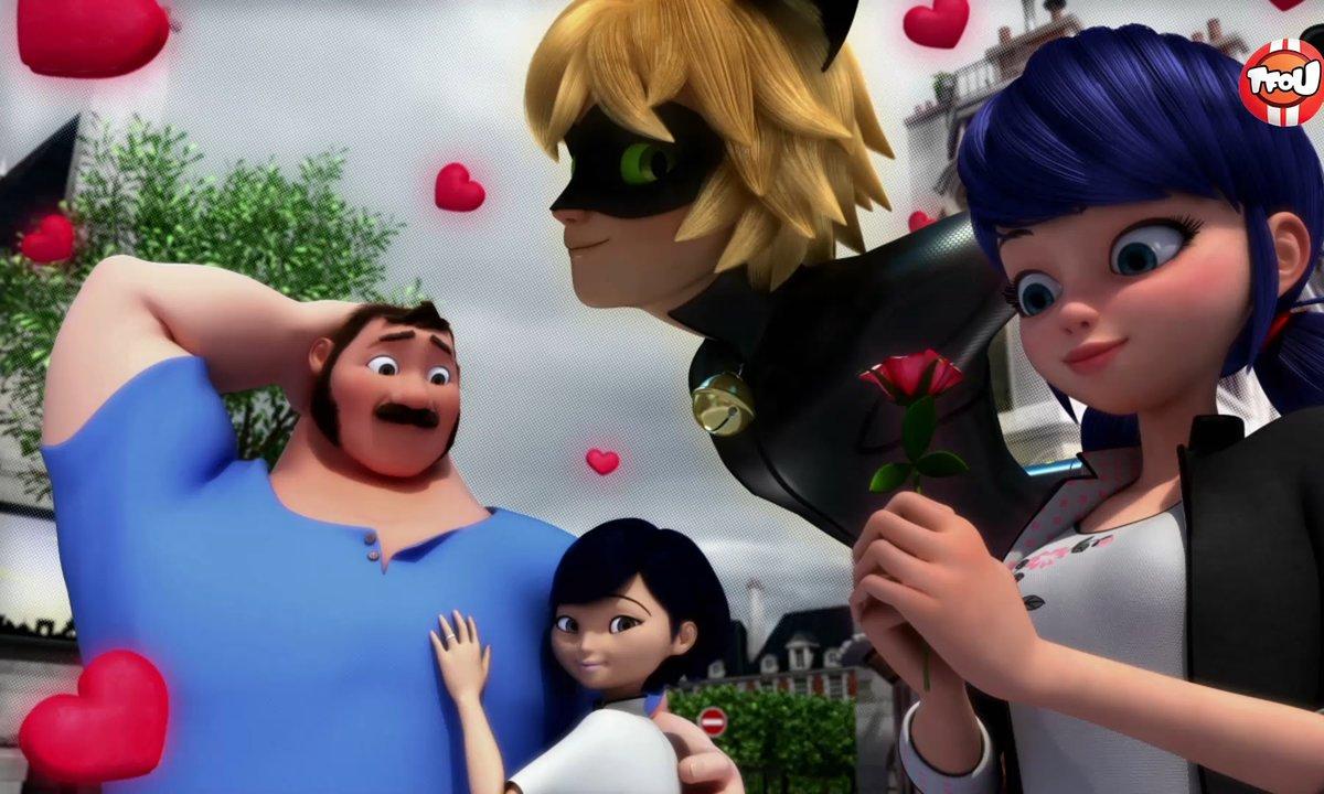 Miraculous - Les aventures de Ladybug et Chat Noir - Papa Garou  - extrait