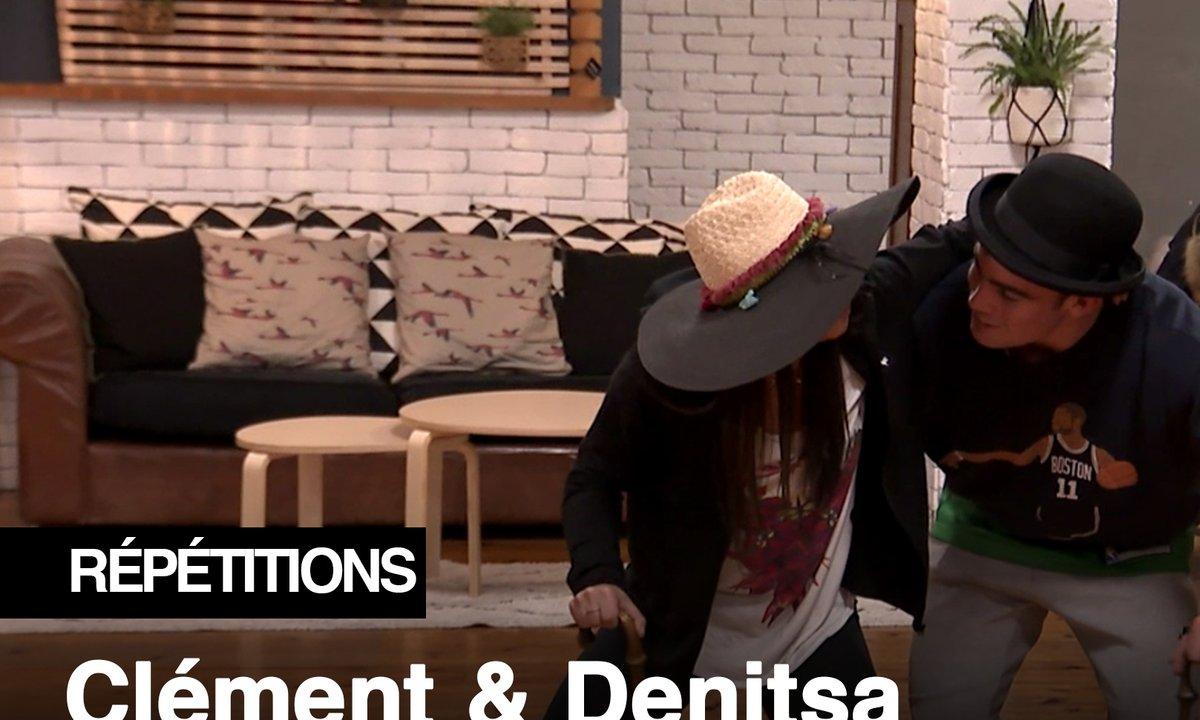 Répétitions - Papy Clément et mamie Denitsa dans les studios de Danse avec les stars
