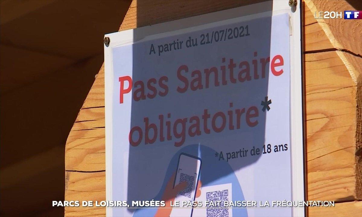 Parc de loisirs, musée : le pass sanitaire fait baisser la fréquentation