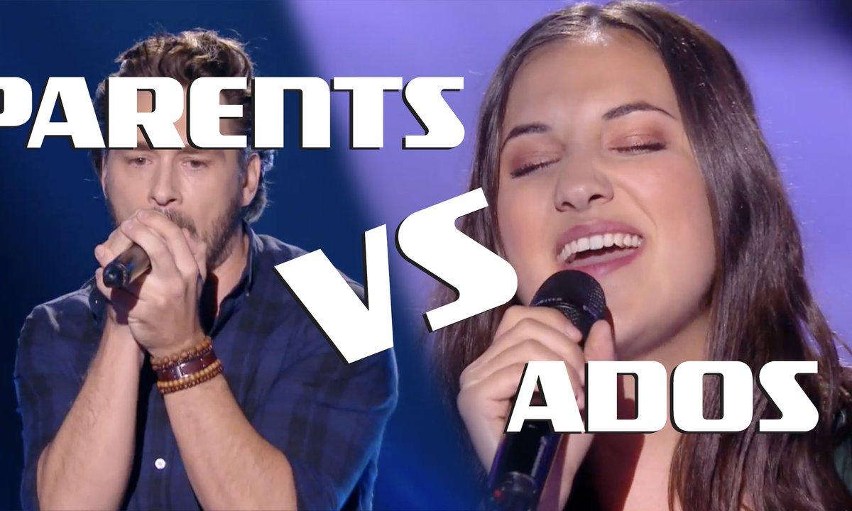 Le match des blinds : PARENTS vs ADOS ?