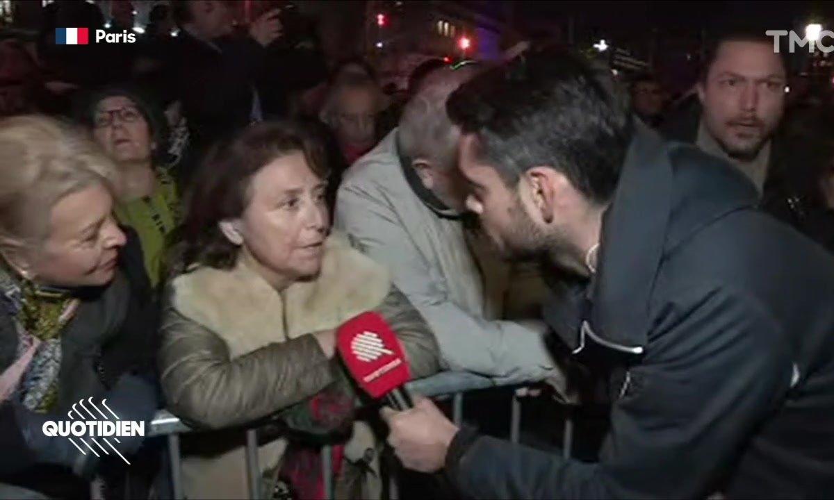 """""""Les paroles sont belles, mais il n'y a pas d'actions"""" : inquiétude lors de la marche contre l'antisémitisme"""