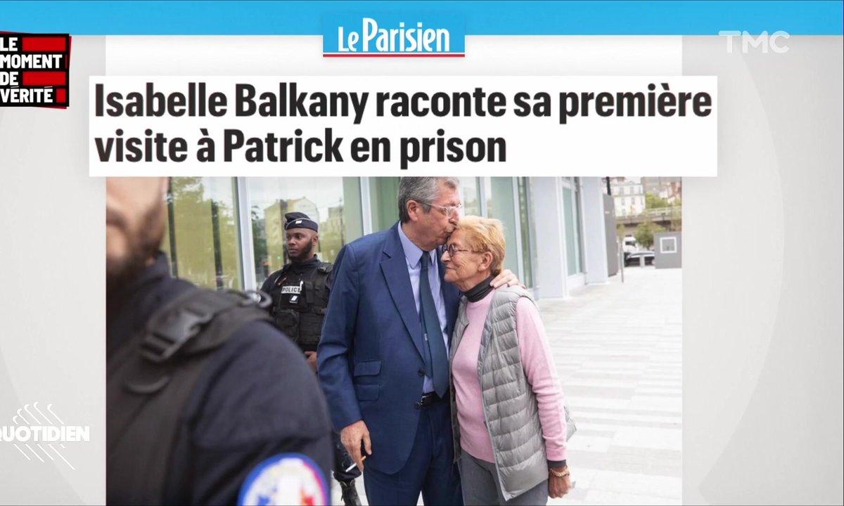 "Patrick Balkany et la ""bouffe immonde"": pas facile facile la prison"