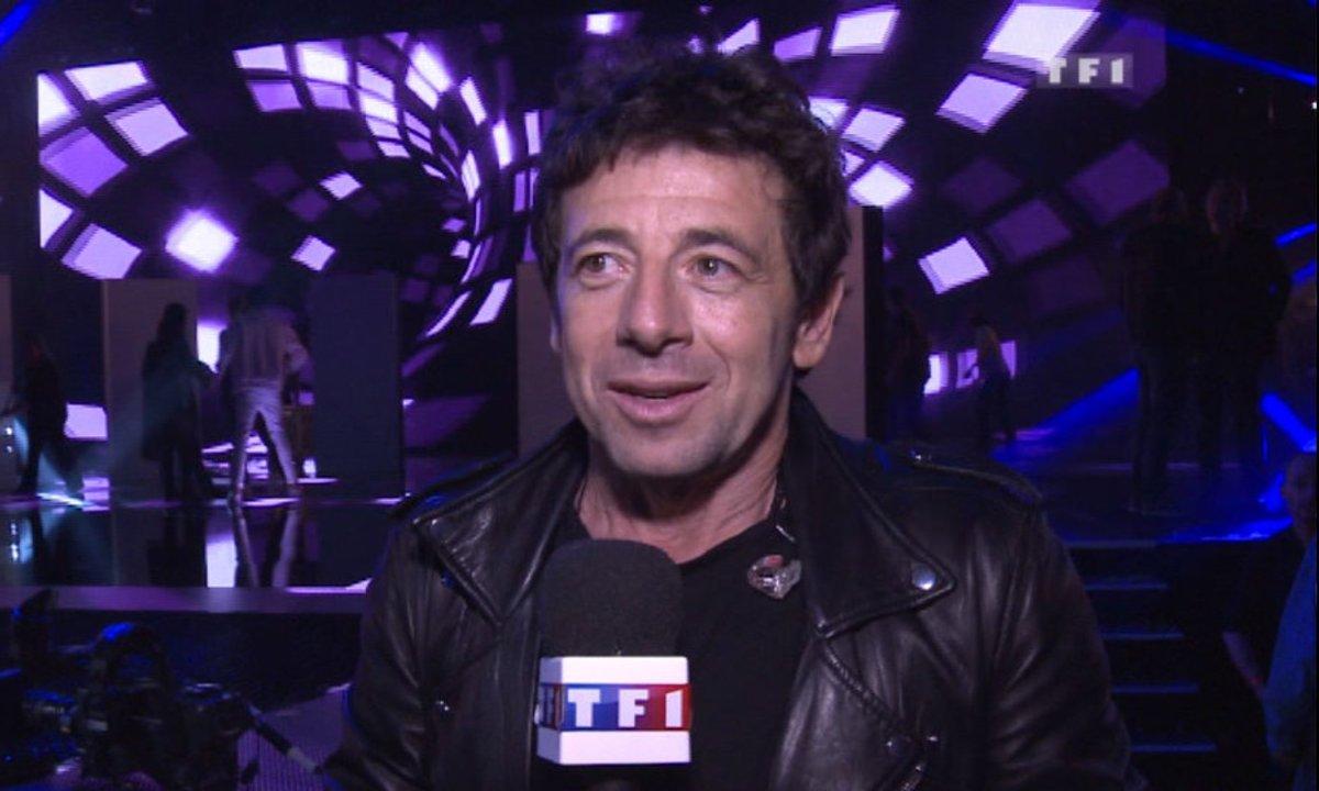"""NRJ Music Awards Répétitions : Patrick Bruel """"C'est un plaisir"""""""