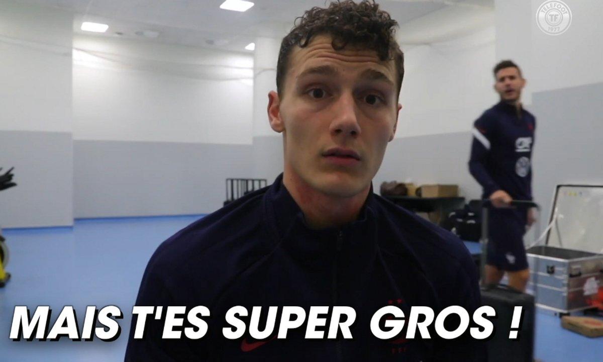 """VIDEO – Lucas Hernandez trolle Pavard après son but au """"second poteau"""""""