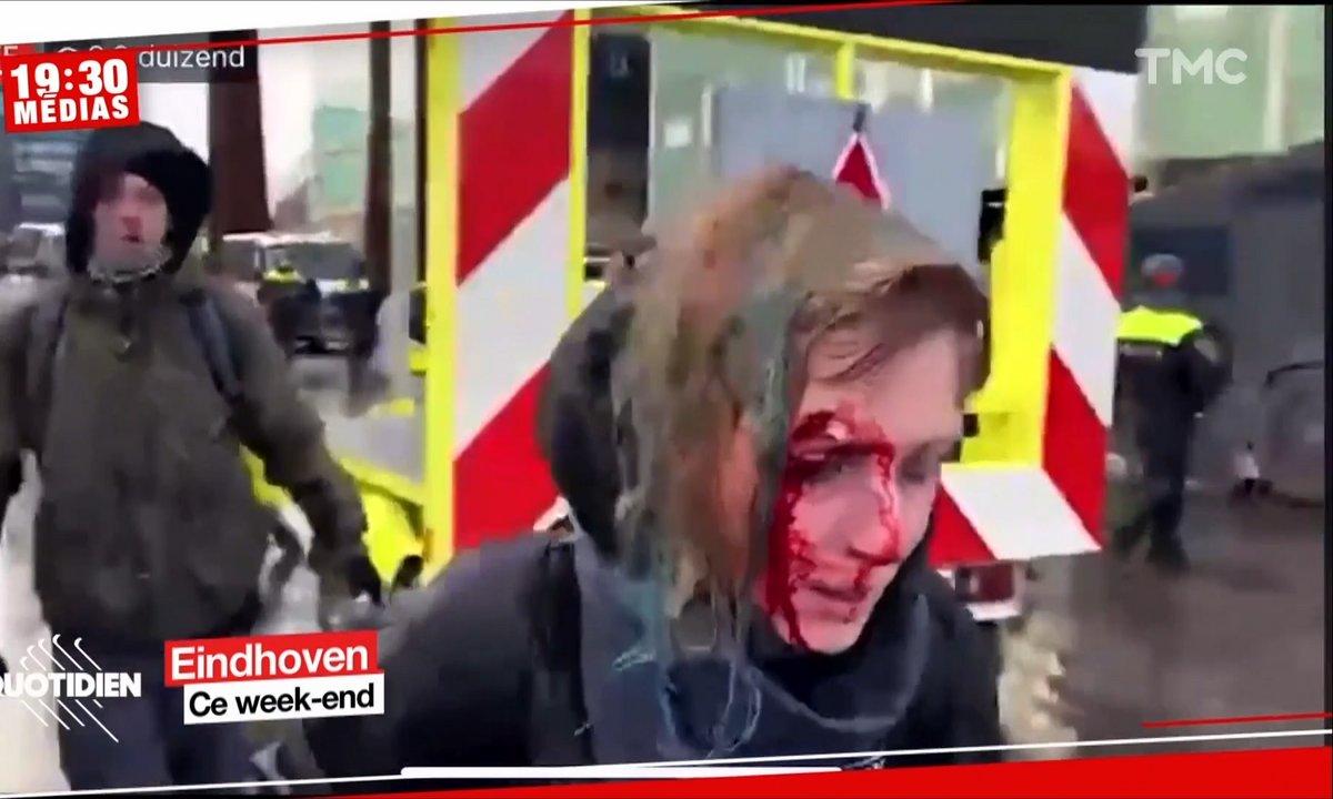 Pays-Bas: plusieurs manifestations anti-couvre-feu dégénèrent