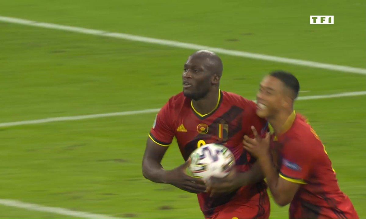 Belgique - Italie (1 - 2) : Voir le but sur penalty de Lukaku en vidéo