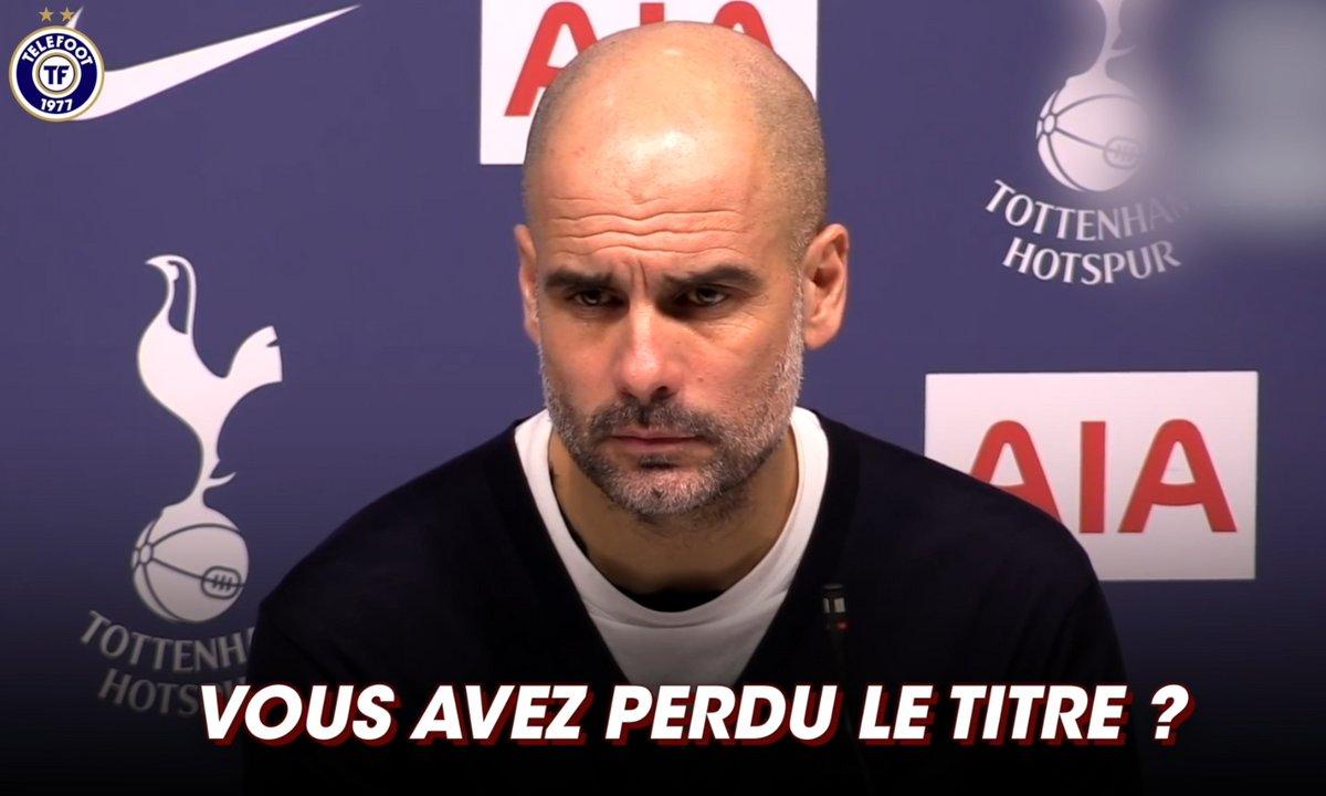 Manchester City ne peut plus jouer le titre ? Merci, Guardiola semble au courant
