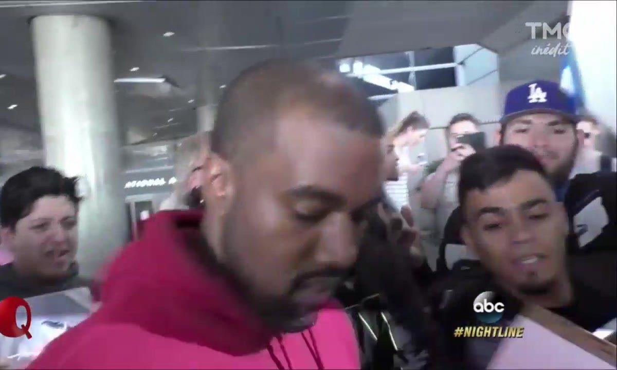 Le Petit Q : Kanye West en HP !