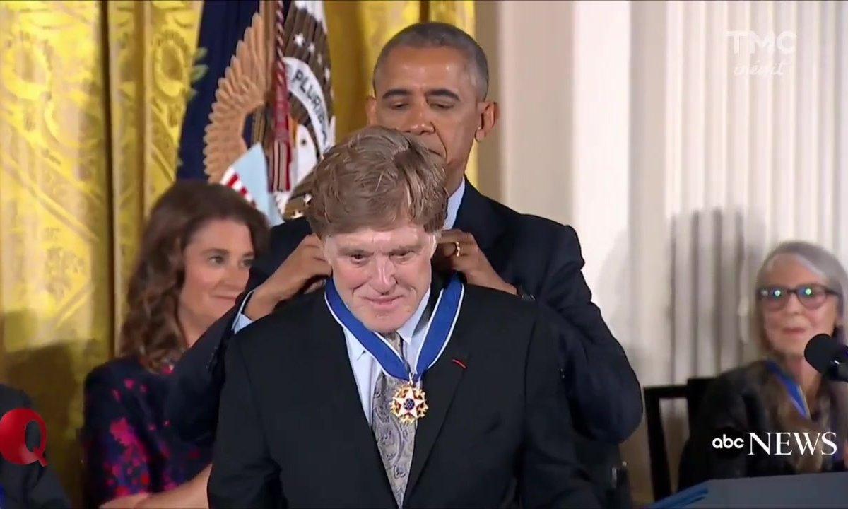 Le petit Q : Distribution de médailles à la Maison Blanche