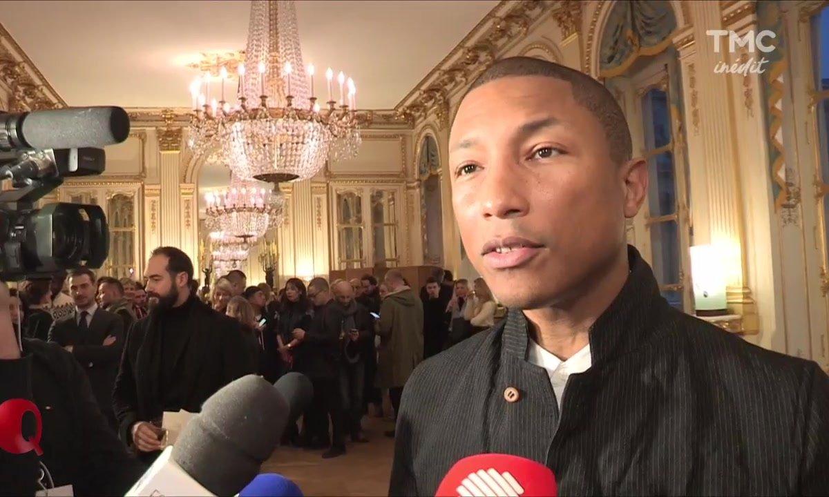 Le petit Q - Pharrell Williams décoré
