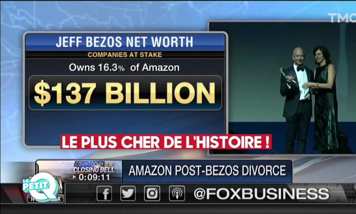 Le Petit Q : le très cher divorce de Jeff Bezos, patron d'Amazon