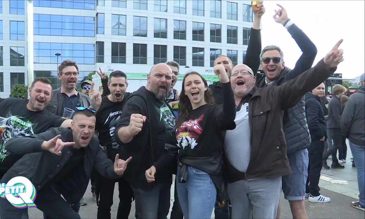 Le Petit Q au concert de Metallica