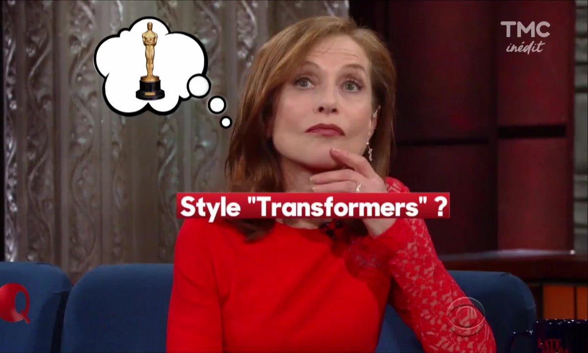 Le Petit Q : Isabelle Huppert bientôt dans Transformers ?