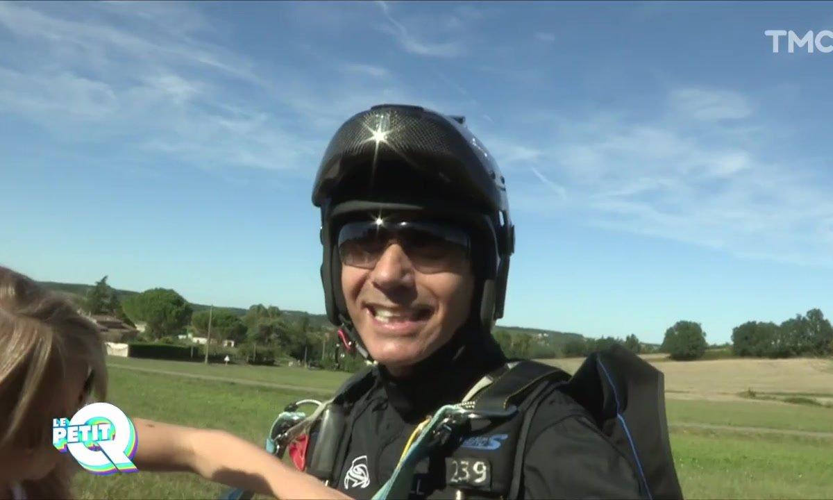 Le Petit Q : Jean-Luc Lahaye parachutiste