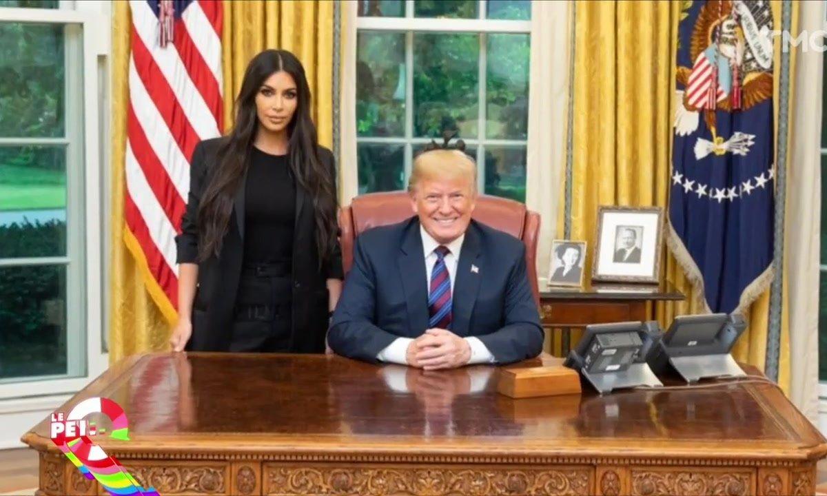 Le Petit Q : Kim K chez Trump