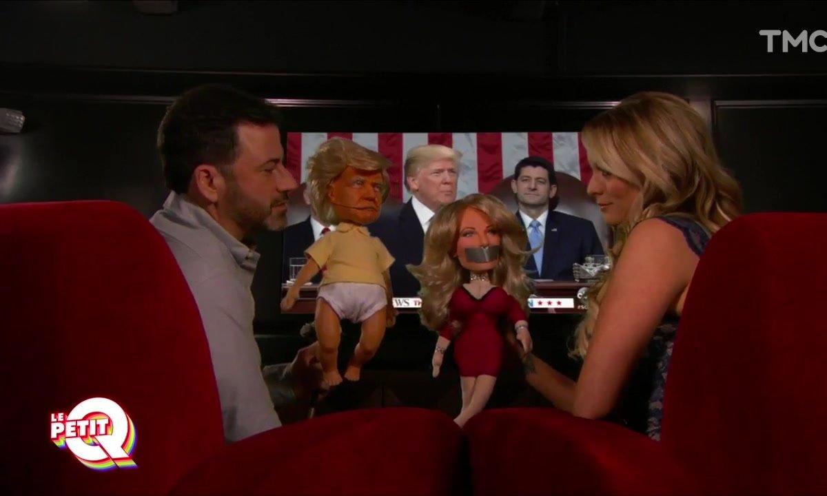 Le Petit Q : L'actrice porno qui ne peut pas raconter sa liaison avec Trump