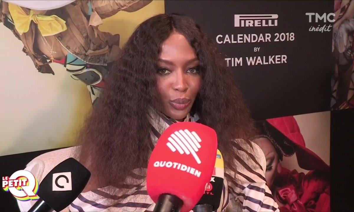 Le Petit Q : Naomi Campbell, la diva du calendrier Pirelli