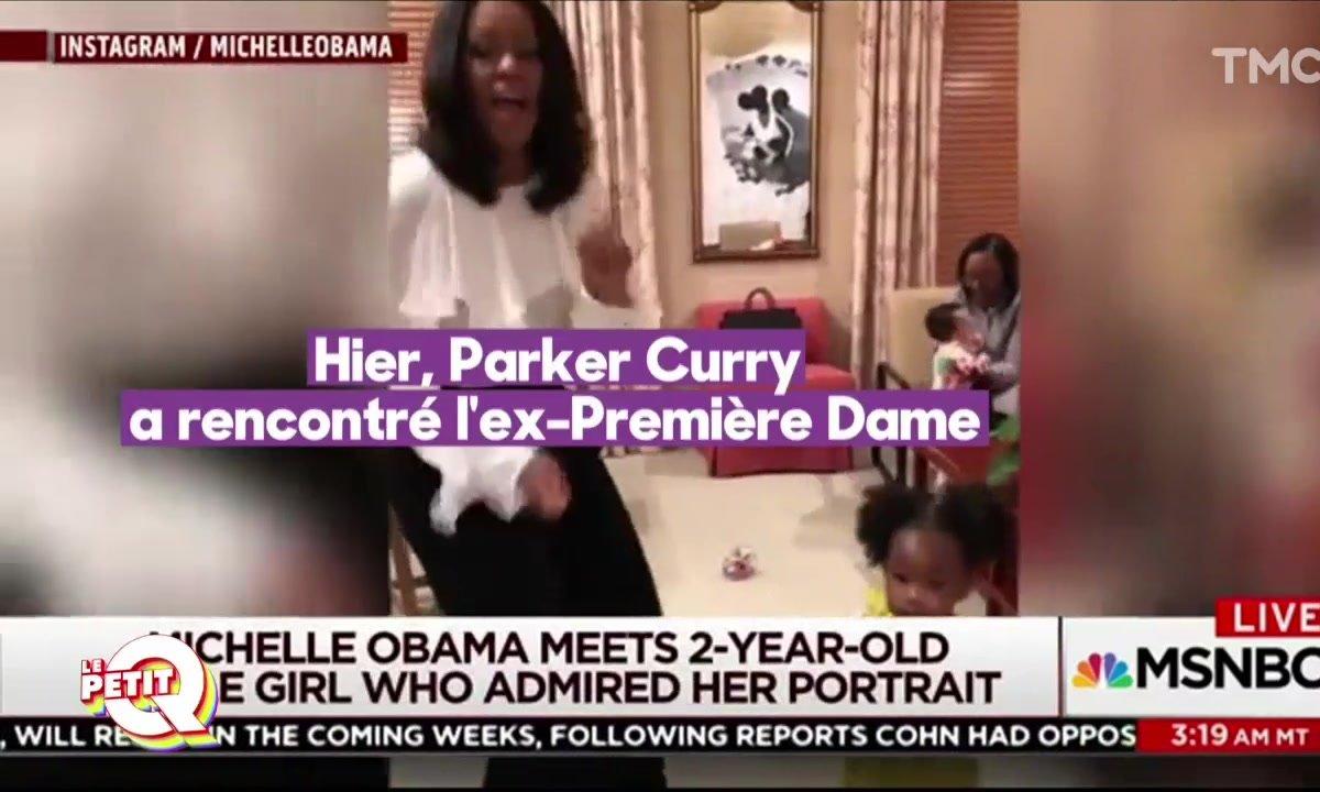 Le Petit Q : Parker, deux ans, fait chavirer l'Amérique et Michelle Obama