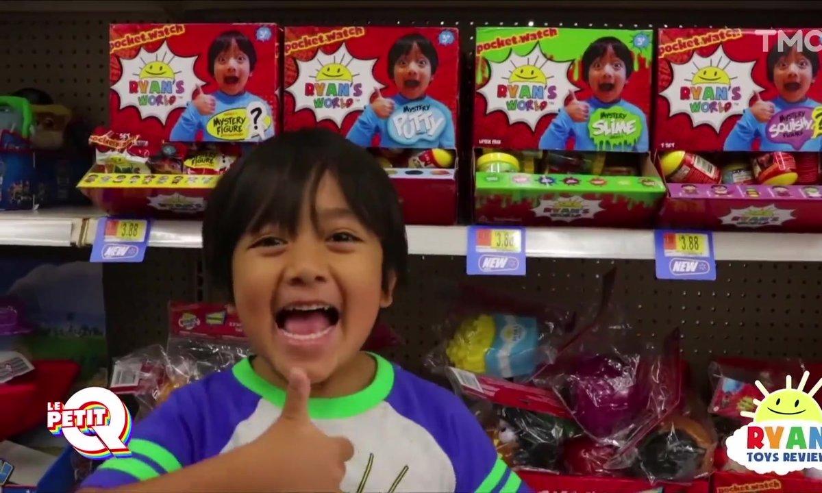 Le Petit Q : Ryan, l'enfant le plus riche de Youtube