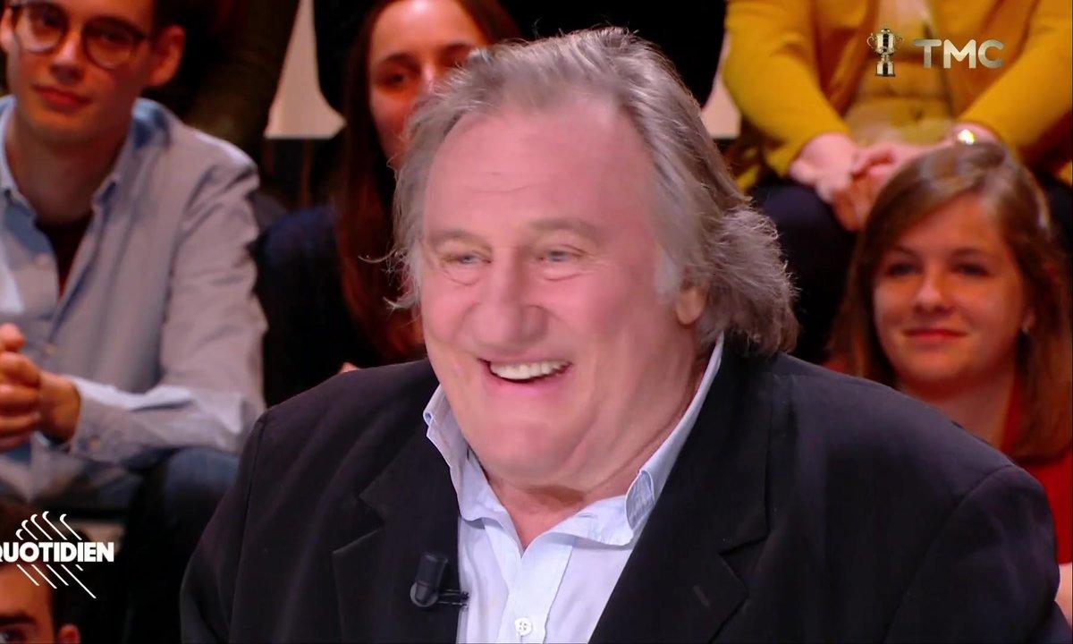 La petite punchline de Gérard Depardieu sur François Fillon