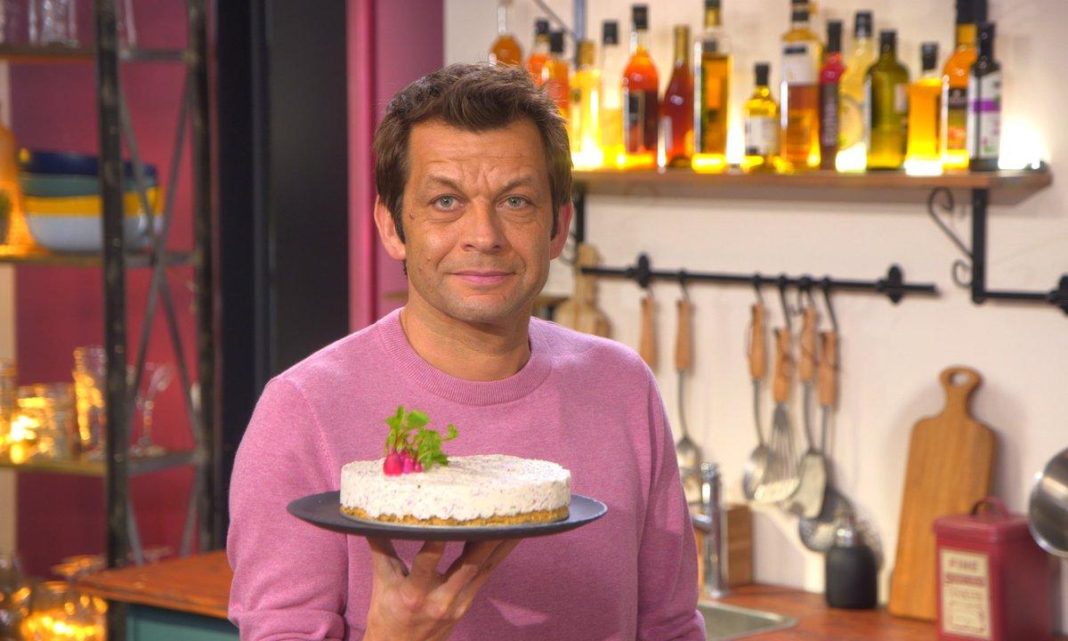 Cheesecake de radis
